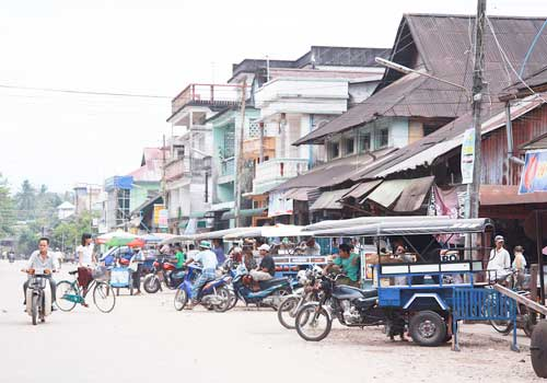 Commercial real estate in the centre of Dawei has increased in value by as much as 500 percent, brokers in the town say.  (Hein Latt Aung / The Myanmar Times / April 04, 2011)