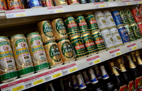 Myanmar Brewery was the highest payer of commercial and income tax in the 2011-12 year, the Revenue Department says. (Yadanar / The Myanmar Times)
