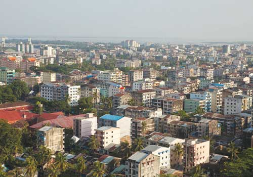 A draft condominium law in parliament might allow foreigners to buy condominiums, developers say.  (Stuart Deed / The Myanmar Times)