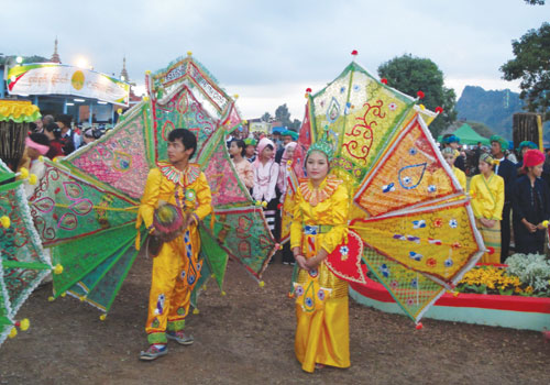 Shan New Year is celebrated in Taunggyi, Shan State, December 2011. (Supplied)