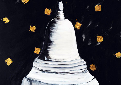 Aung Myint, White Stupa Doesn't Need Gold (2010)