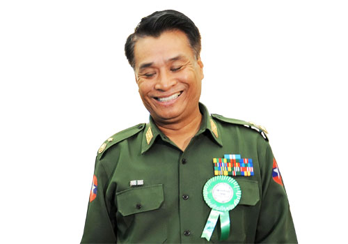 Lieutenant General Thein Htay.
