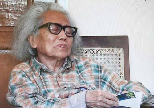 Writer Dagon Taryar at his home. Photo: Supplied
