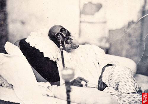 Last Mughal Emperor of India, Bahadur Shah Zafar, under custody after being tried by the British, died in 1862 in Rangoon (Yangon). Photo: Rex/Universal History Archive