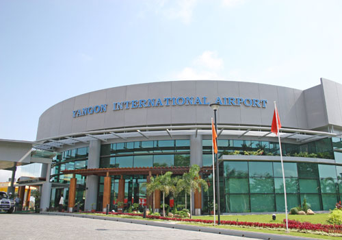 Yangon International Airport is the country's primary visitor gateway. Photo: Staff