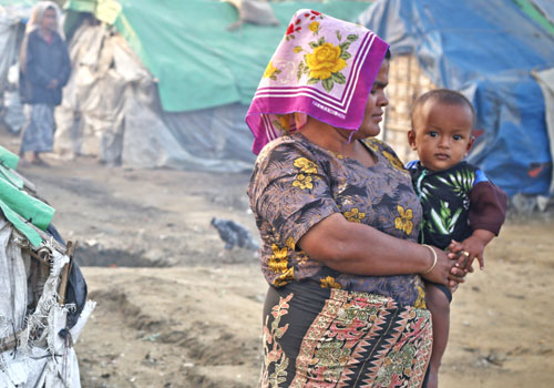 The revocation of white cards stands to affect thousands of people living in IDP camps in Rakhine State. (Yu Yu/The Myanmar Times)