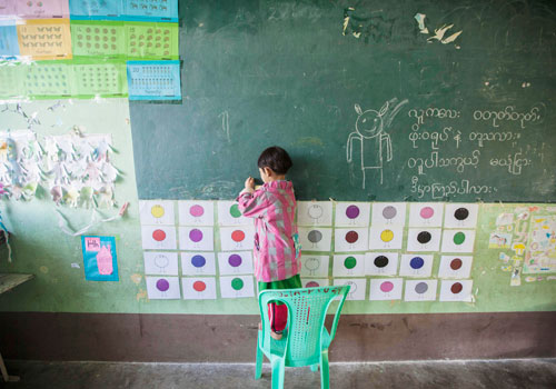 The public education system is among the many state institutions that would benefit from reforms to Myanmar's taxation framework. Photo: EPA