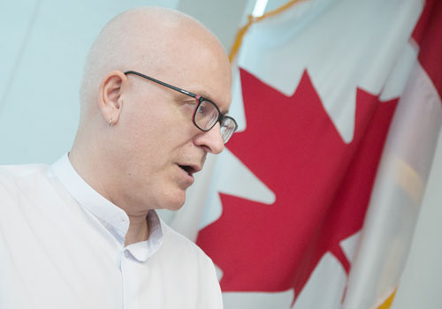 Canadian Ambassador Mark McDowell's ambassadorial stint ends today. Photo: Aung Khant