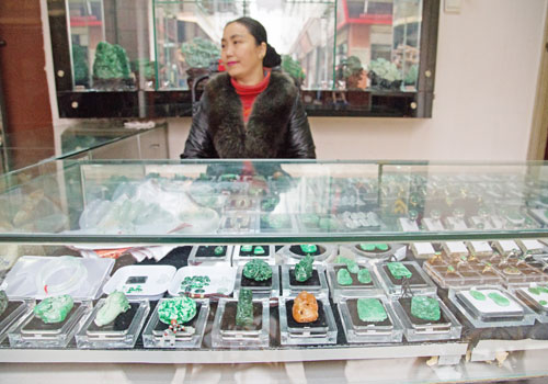 Jade traders are hoping that gaining access to the US market will help offset the trade slowdown with China. Photo: Aung Myin Ye Zaw / The Myanmar Times