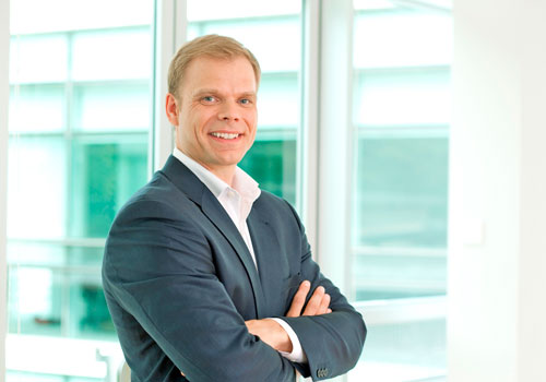Telenor CEO Lars Eric Tellmann sees data consumption continuing to grow. Photo: Supplied