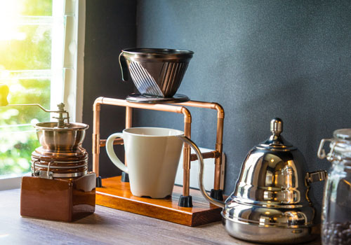 Having the right equipment is a good start to getting the perfect cup.