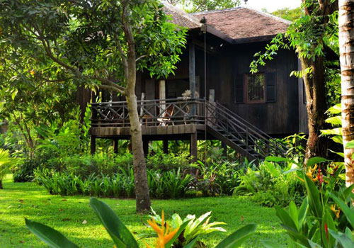 For a truly local and luxury experience, retreat to Maison Polanka on the outskirts of Siem Reap. Photo: Supplied / Maison Polanka