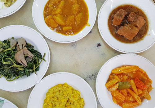 Curries glorious curries. Photo - The Myanmar Times