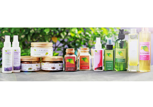 Flawless Myanmar's products. Nyan Zay Htet / ႊThe Myanmar Times