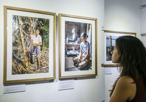 """Rakhine stories"", Myanmar Deitta Gallery. Thiri Lu / The Myanmar Times"