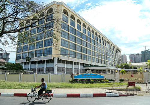 New regulations by the Central Bank of Myanmar will limit local banks' financial exposure. Thiri Lu / The Myanmar Times