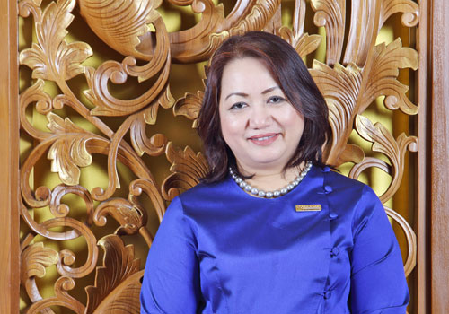 May Myat Mon Win reckons the hotel sector has long-term potential.