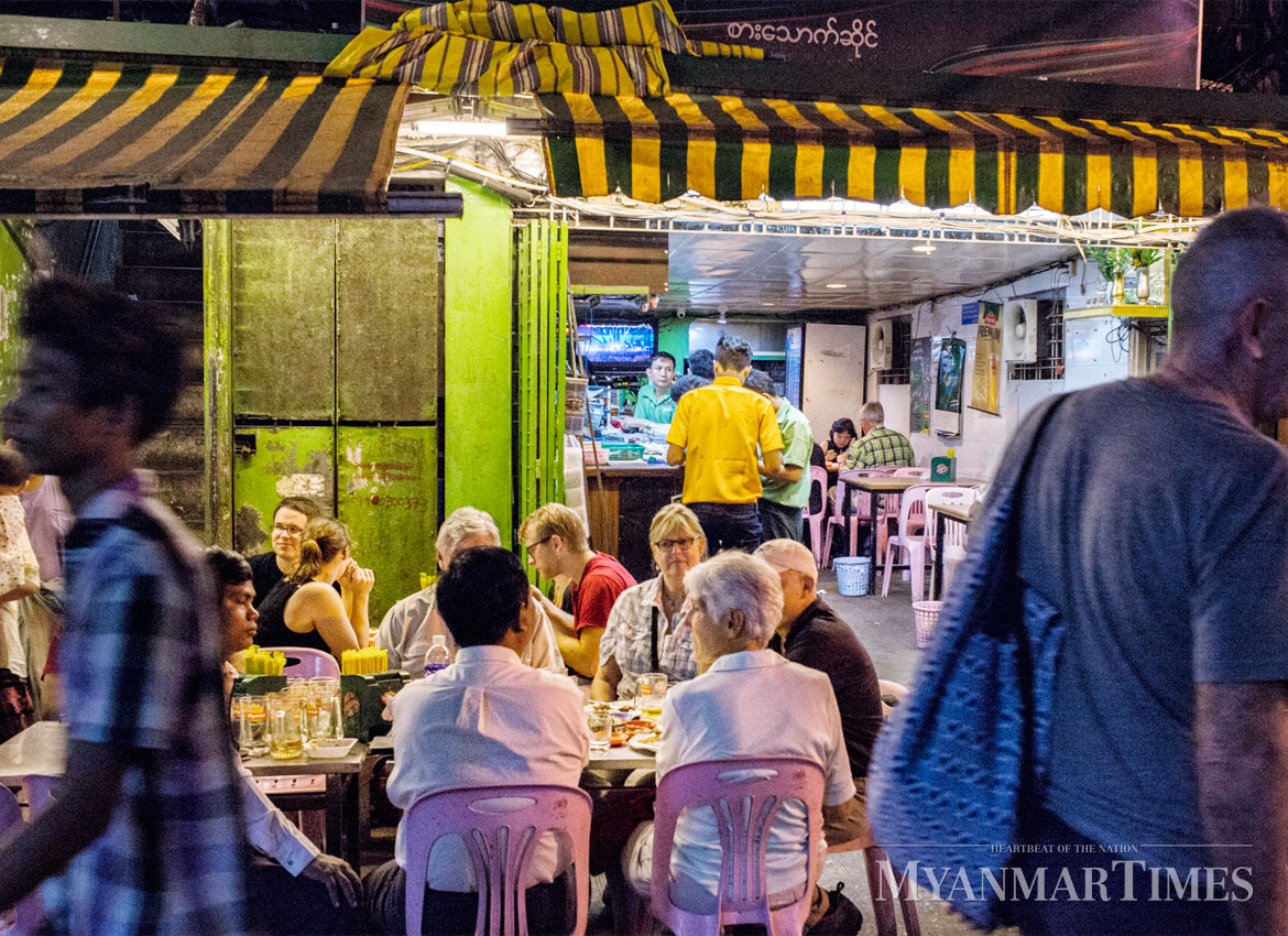 The rhythm of the night in the 19th Street   The Myanmar Times