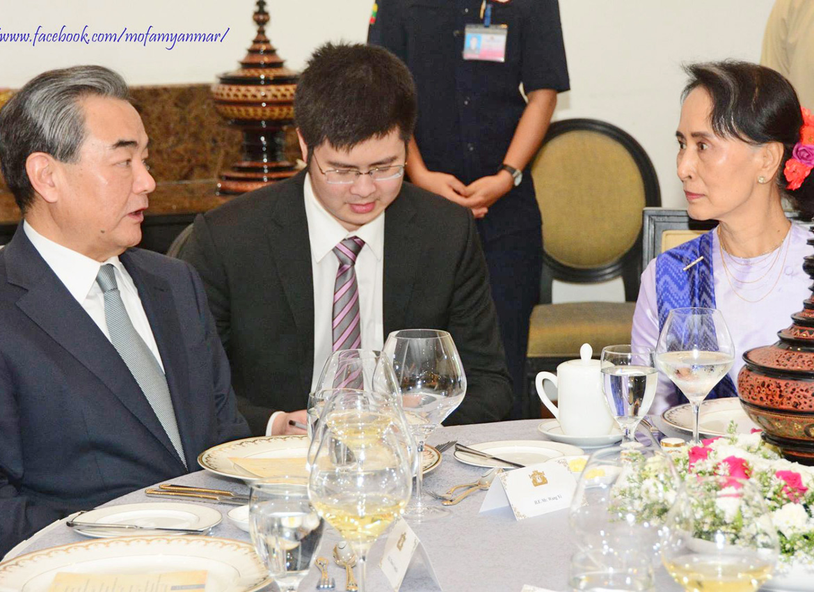 Myanmar's Suu Kyi blames world conflicts on illegal immigration