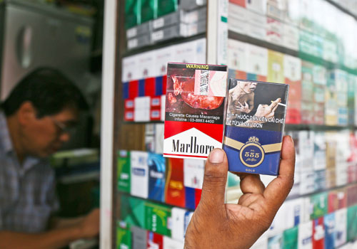 warnings of cigarette packets graphic essay Graphic cigarette packet images do help people quit smoking, scientists say the use of graphic warning labels on cigarette packs were introduced in the us in.