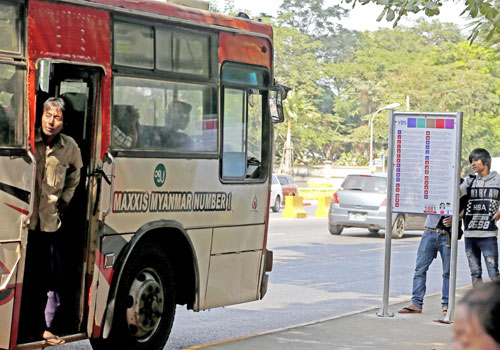 New Day Dawns For Yangon Bus System The Myanmar Times