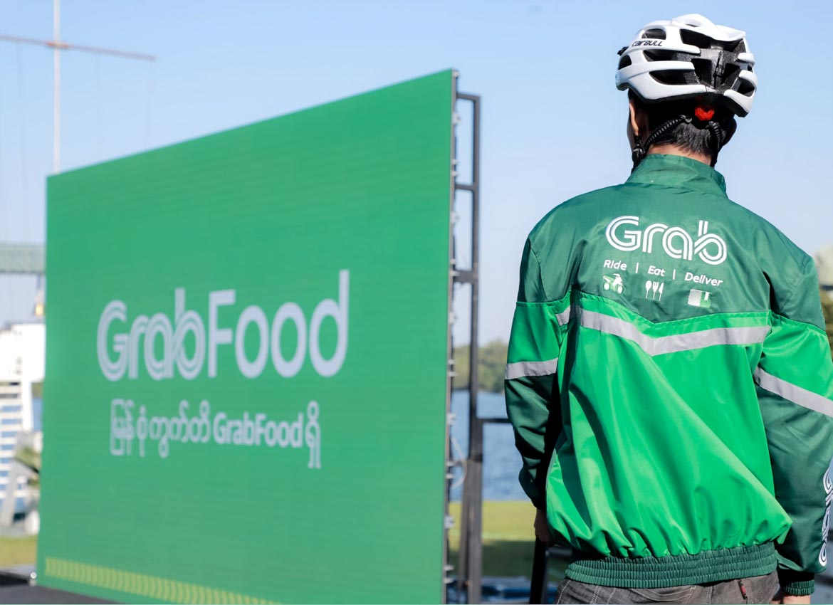 GrabFood offers food delivery services in Yangon | The Myanmar Times