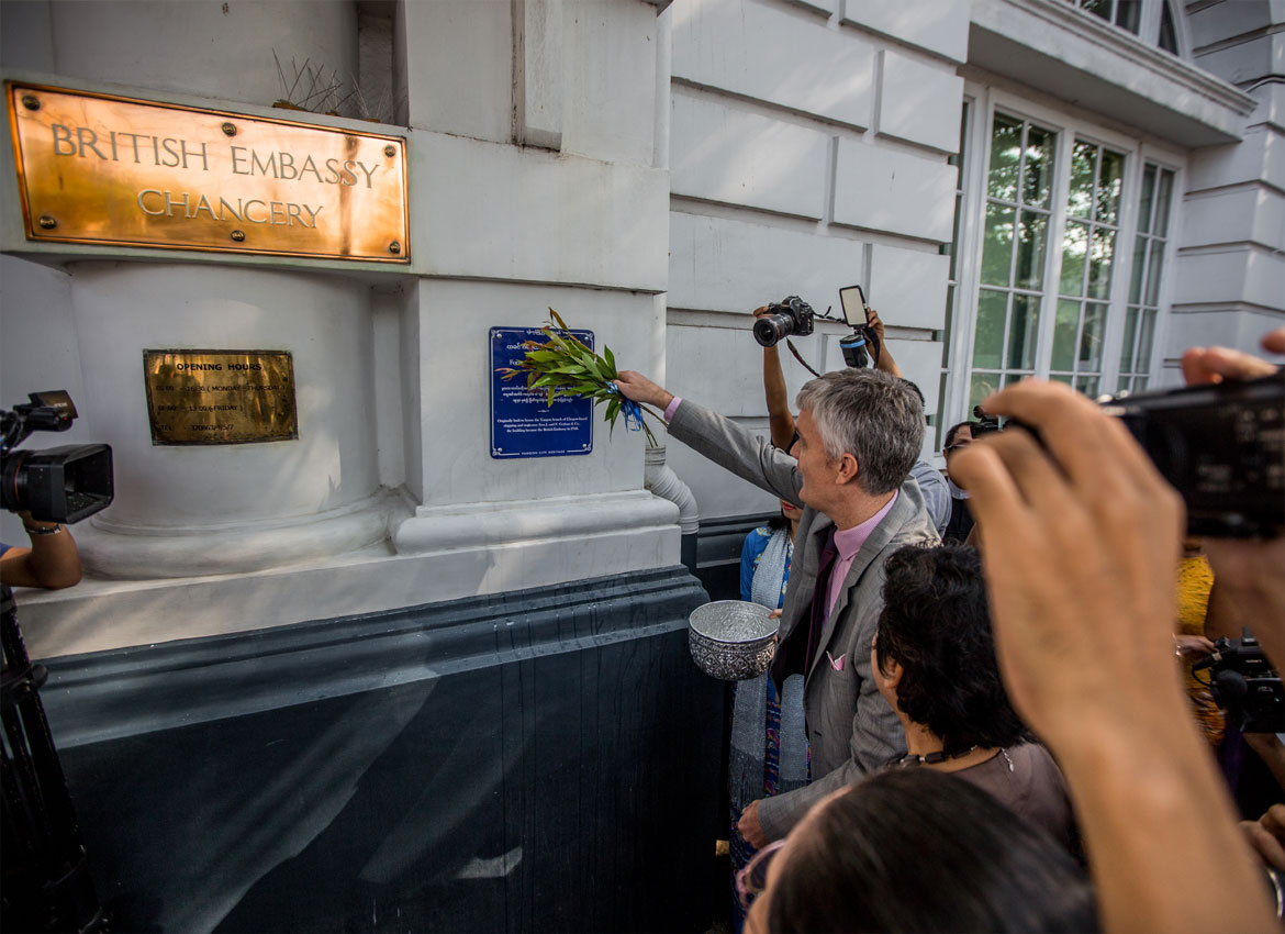 British Embassy Building gets the 28th Blue Plaque | The
