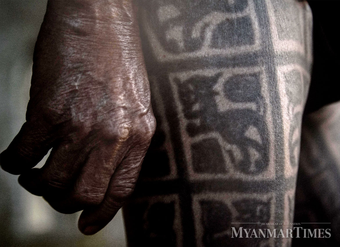 Immortalising The Fading Art Of Traditional Tattooing The Myanmar
