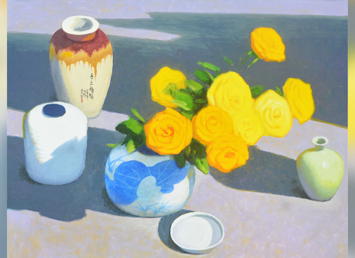A still-life from Win Pe Myint.Photos: Supplied