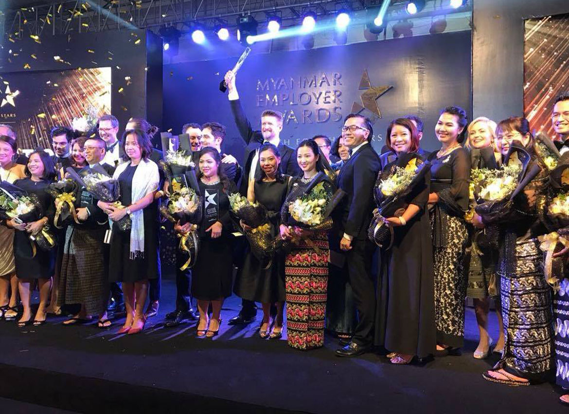 Winners of the 2017 Myanmar Employer Awards have been announced