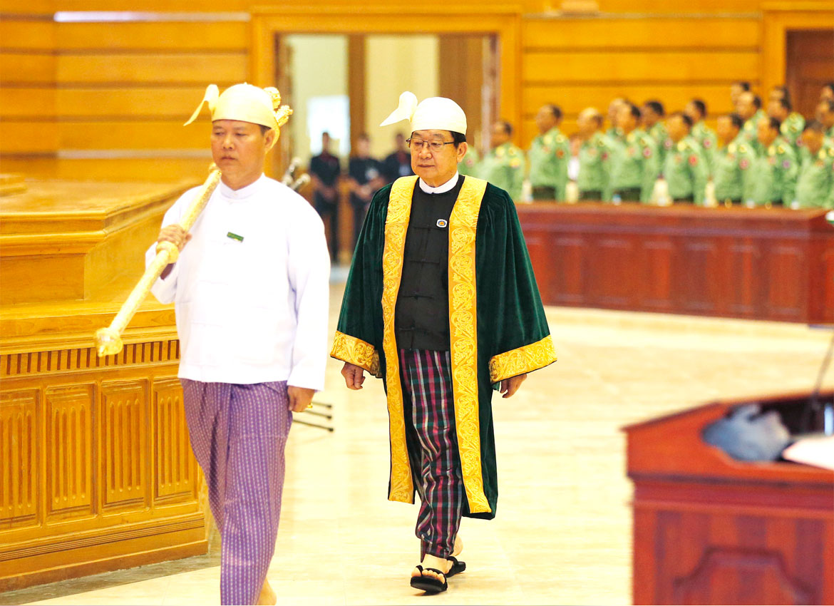 MPs reminded no shouting, protests allowed in Myanmar's union ...