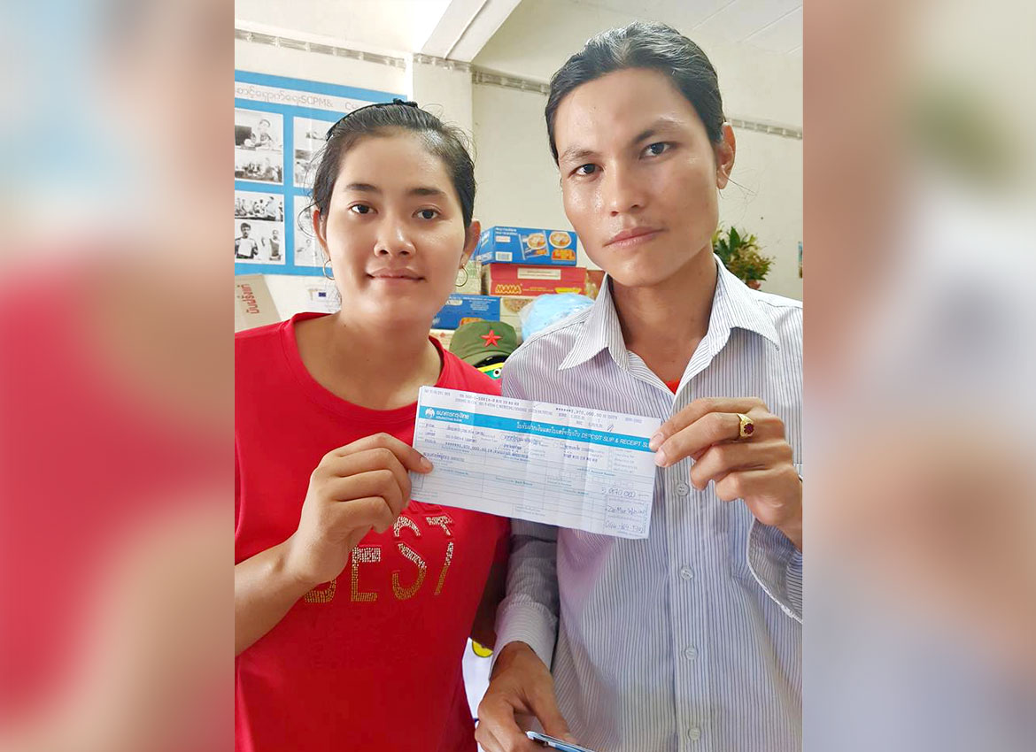 Myanmar couple hits the jackpot in Thailand lottery | The