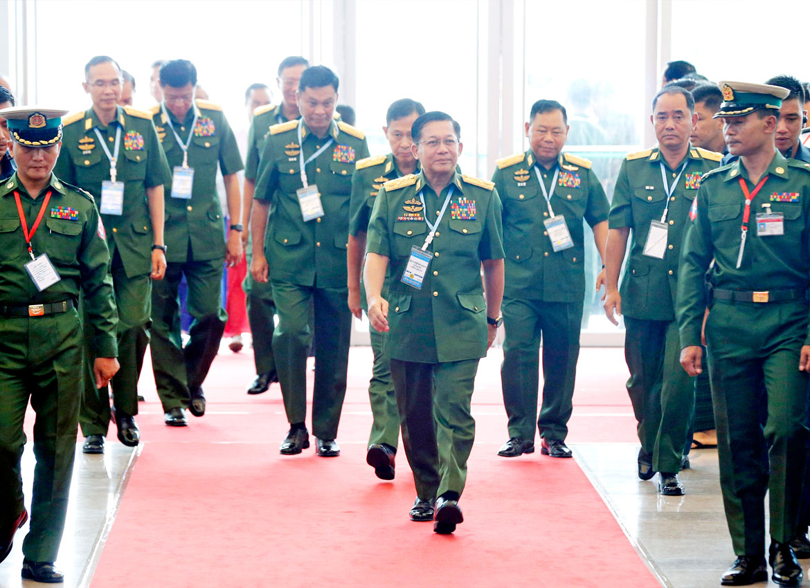 US imposes tougher sanctions against top Myanmar military officials | The  Myanmar Times