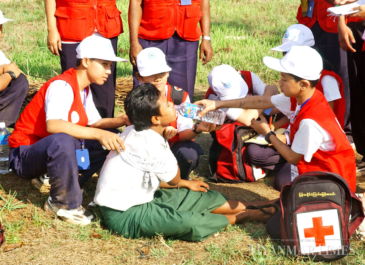 Red Cross aims to train five million to build resilient communities