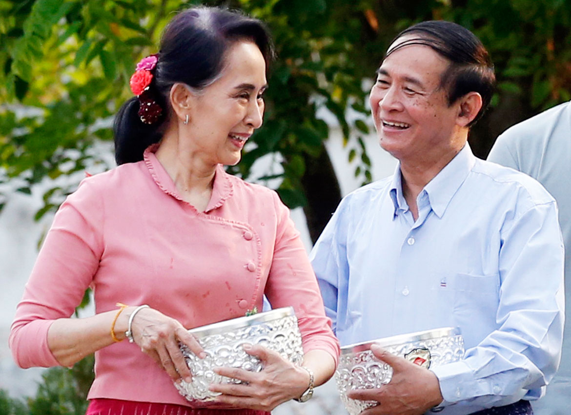 President U Win Myint uses carrot-and-stick with civil servants | The  Myanmar Times