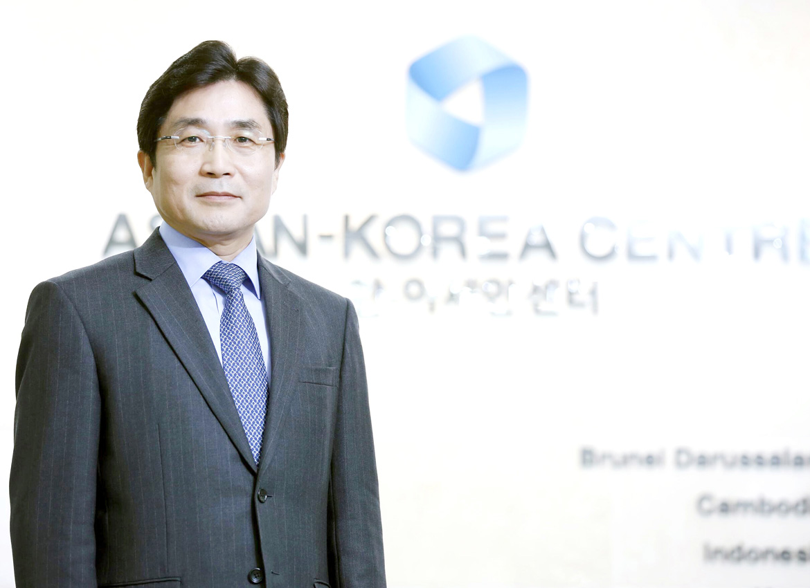 Mr Kim Young-sun, Secretary General of the ASEAN-Korea Centre: South Korea and Myanmar have a special relationship that will our investments here to flourish. Photo - Supplied