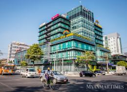 The banking sector is expected to develop further in 2019. Aung Myin Ye Zaw/The Myanmar Times