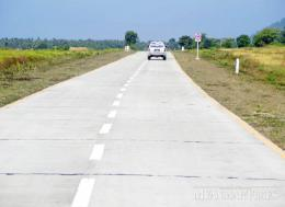 A road in Rakhine State. The Myanmar Times