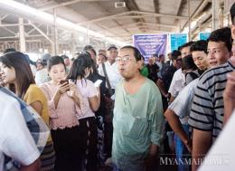 Only two million out of a population of more than 50 million in Myanmar are insured. Phoe Wa/The Myanmar Times