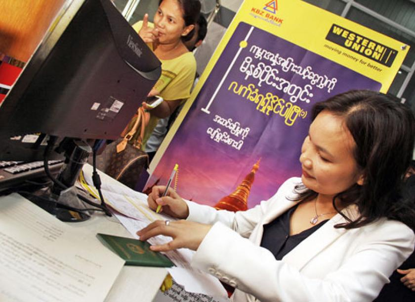 Kbz Expands Western Union Services To All Outlets The Myanmar Times