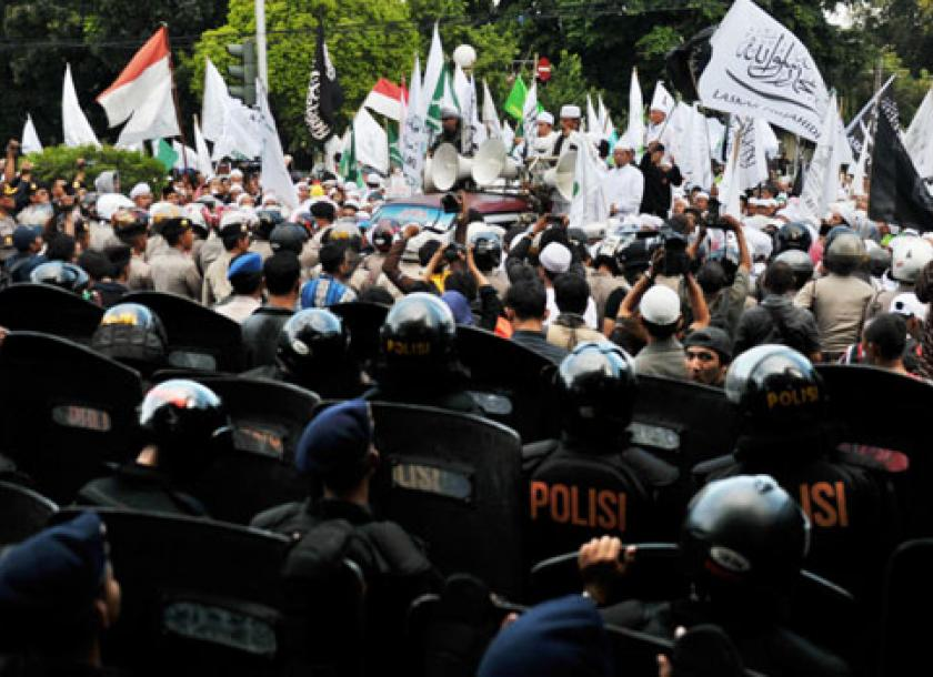 Hardliners march on embassy in Jakarta | The Myanmar Times