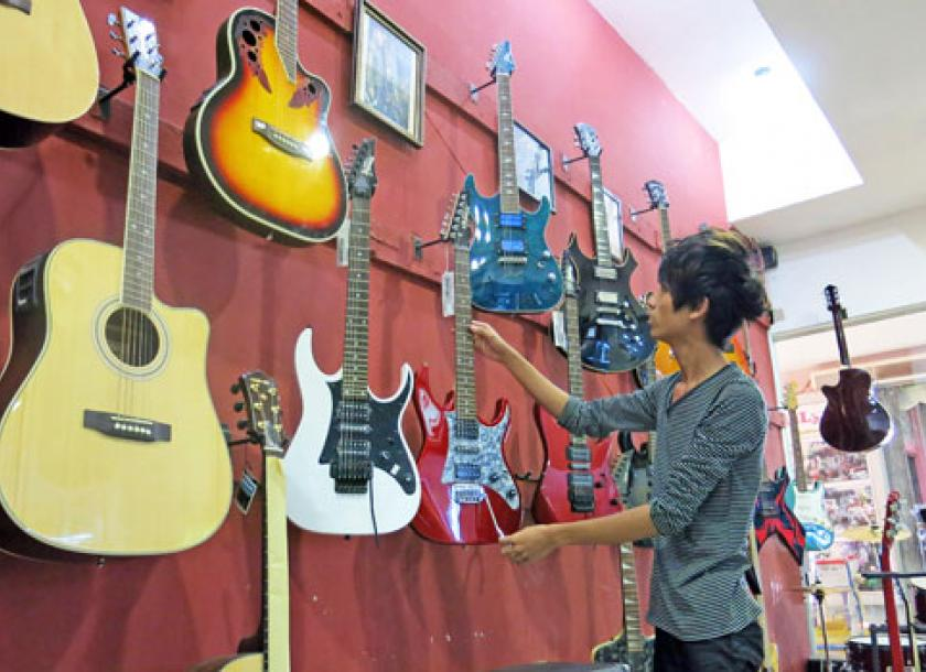Guitars hit the right note with teenagers   The Myanmar Times