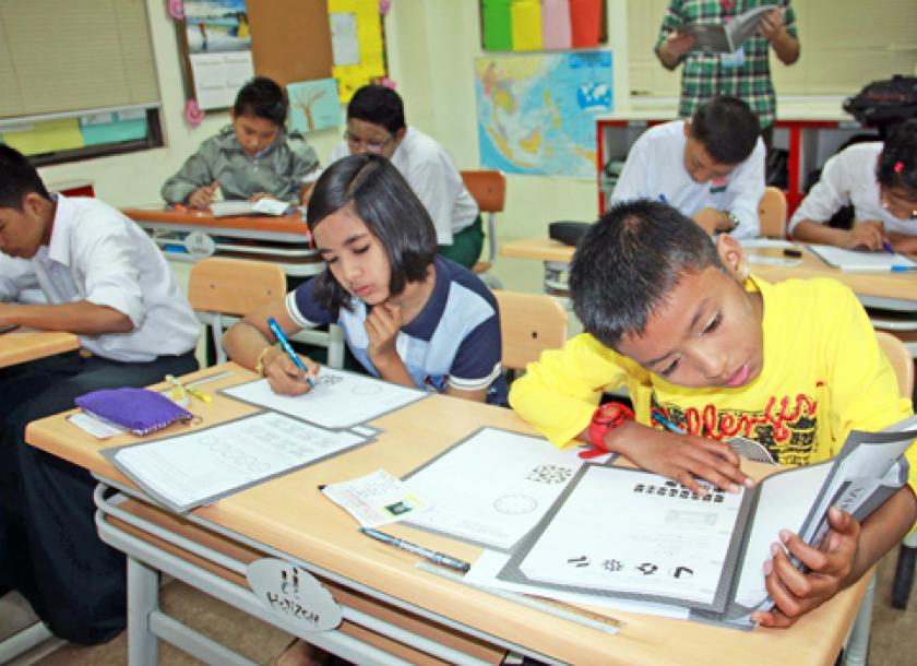 "Mathemania"" competition challenges school kids 