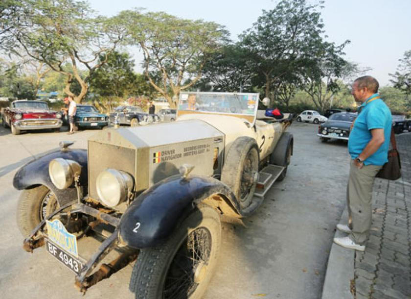 Vintage cars roll into Mandalay | The Myanmar Times