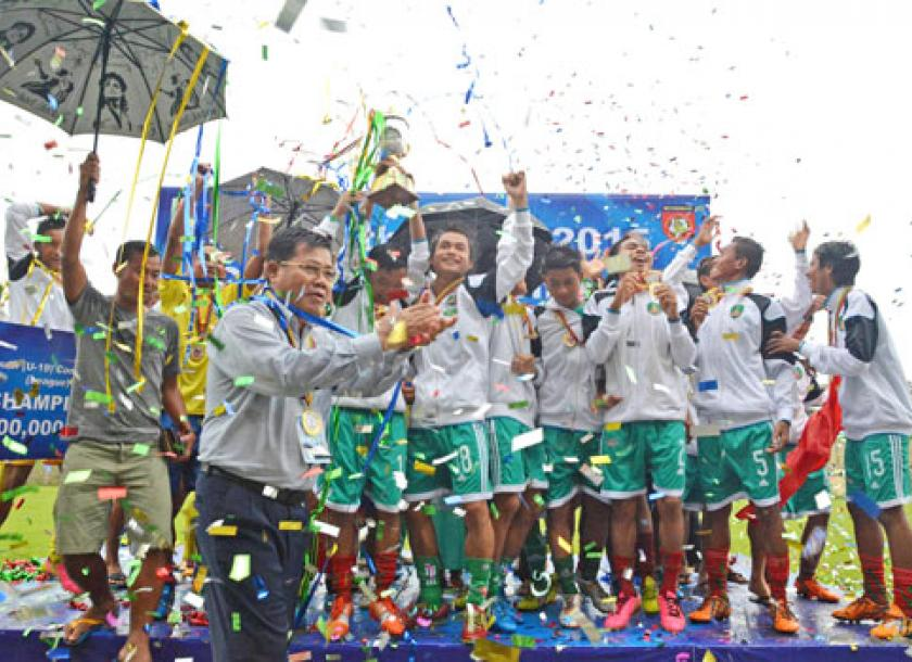 In Pictures: Myawaddy U19 side takes MNL -2 Youth title ...