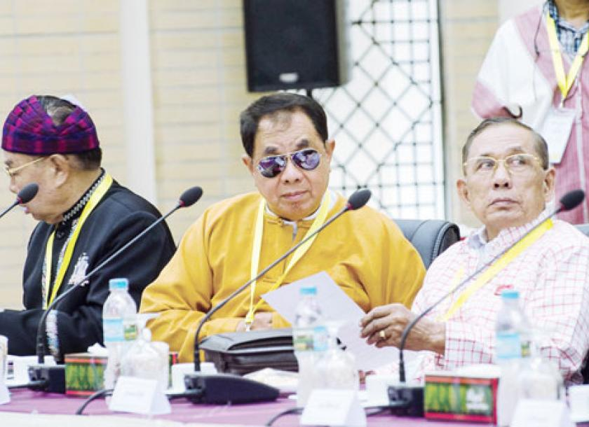 Peace Talks End Without Signing Date The Myanmar Times