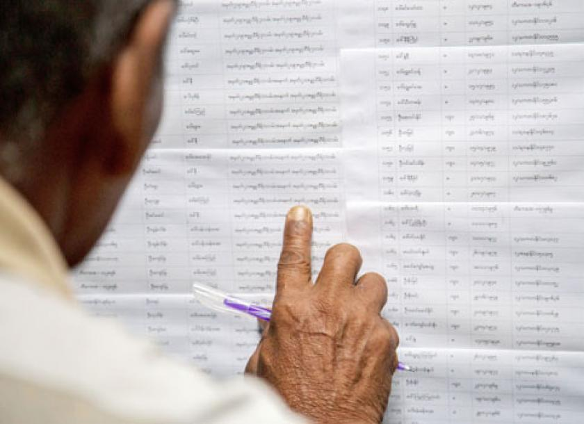 Voter list manipulation feared in Hlaing Tharar township