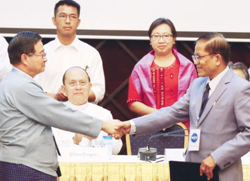 Draft National Ceasefire Accord Signed To End Decades Of War The