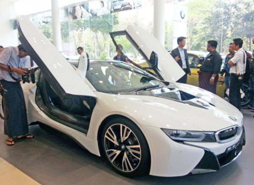 Bmw Drives Into First Myanmar Expo The Myanmar Times