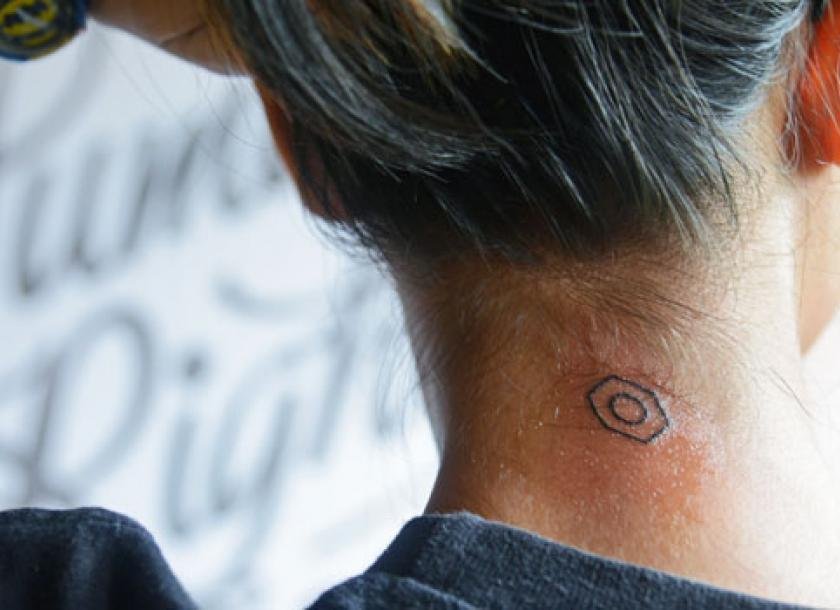 Getting Inked For Human Rights The Myanmar Times